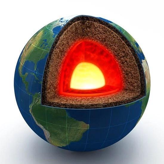 Tüm dünyadaki altınların %99'u merkeze çok yakın yerde eriyik halde bulunmaktadır. Eğer hepsini çıkartabilsek tüm dünyayı 50cm kalınlığında altınla kaplamak mümkün olabilir