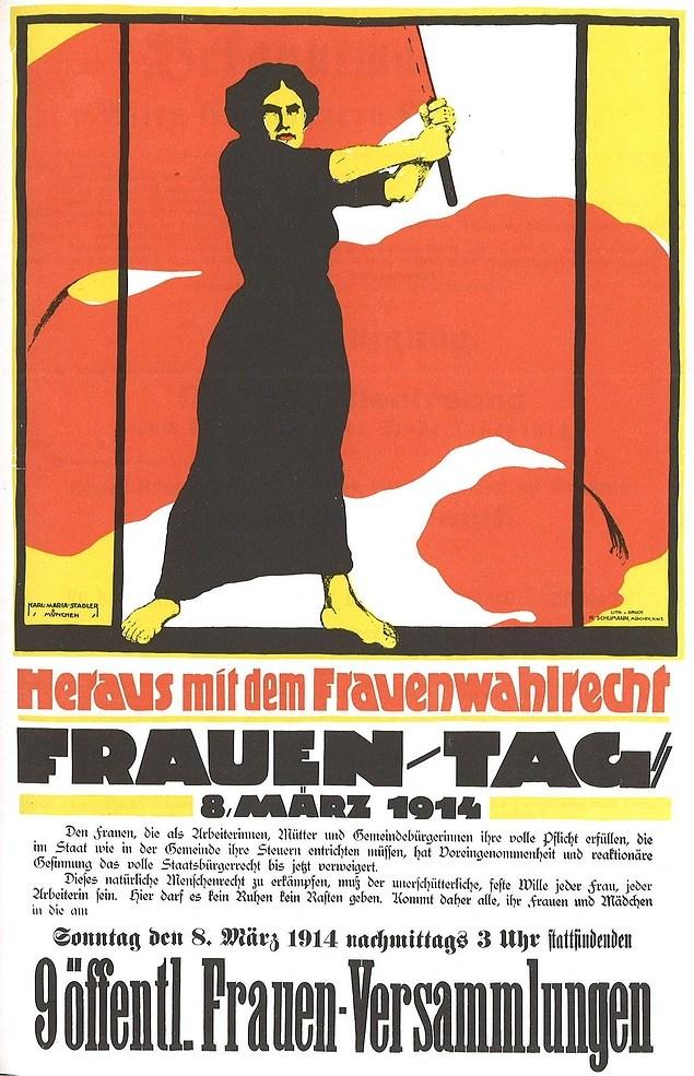Dünya Kadınlar Günü ilk kez 19 Mart 1911'de anıldı...