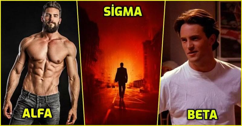 Erkek Tipleri! Alfa Erkek, Beta Erkek, Omega Erkek, Delta Erkek, Sigma Erkek, Gama Erkek Nedir?