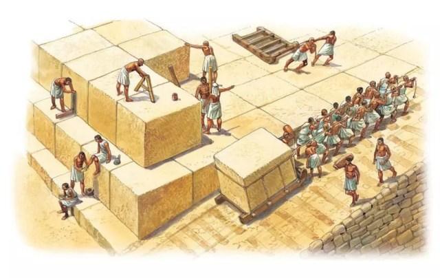 Gradnja egipčanskih piramid
