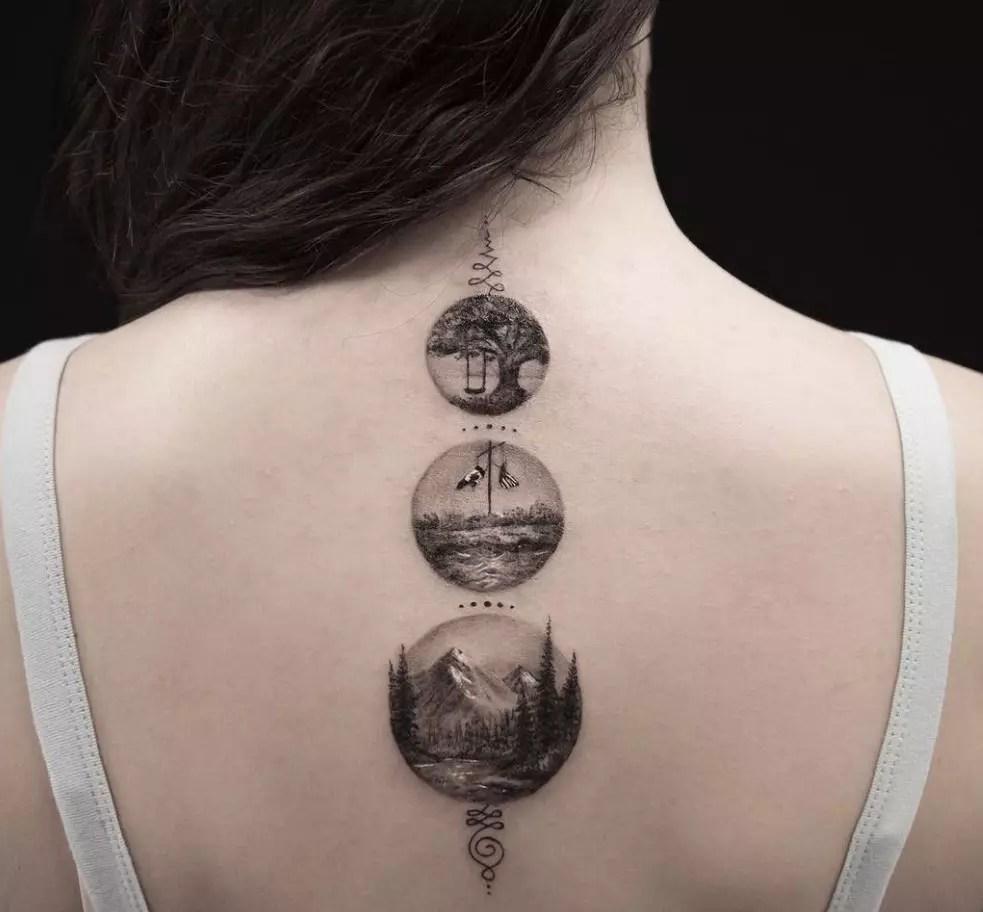 12 нежных женственных татуировок для каждого знака зодиака Onedioru