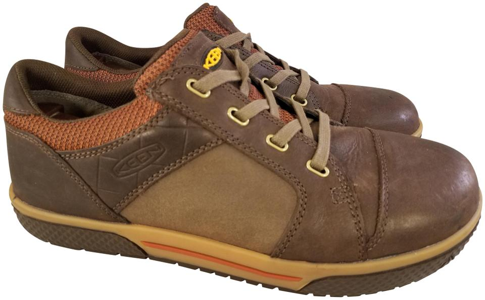Keen Brown Leather Shoes