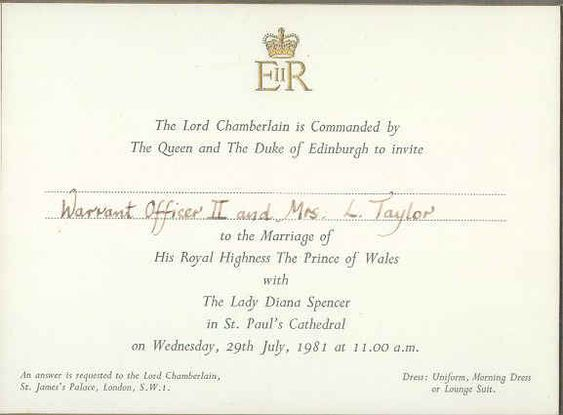 Simpel Dan Berkelas Ini Ragam Bentuk Undangan Royal Wedding Inggris