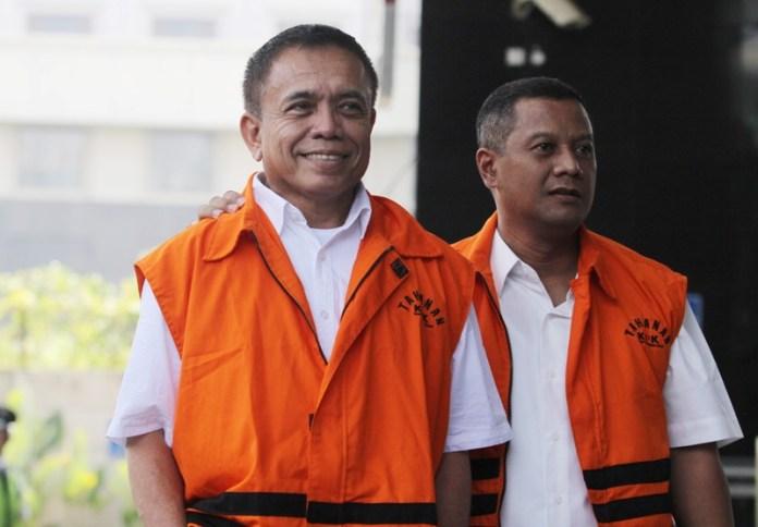 Gubernur nonaktif Aceh Irwandi Yusuf. (Foto: Antara)