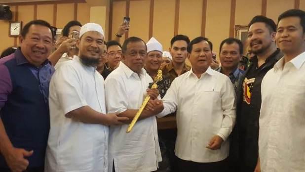 Djoko Santoso dan Prabowo