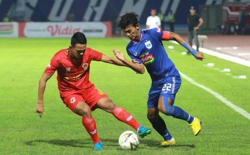 PSIS Semarang vs Kalteng Putra (Foto: Twitter PSIS)