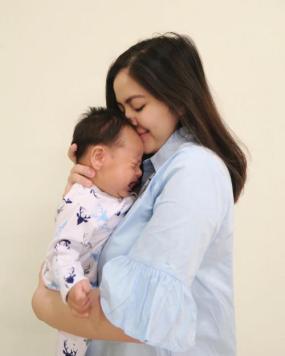 Tasya Kamila dan bayi