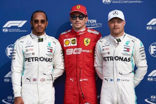 Podium F1 GP Italia 2019