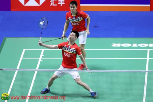 Kevin/Marcus ke Semifinal China Open 2019