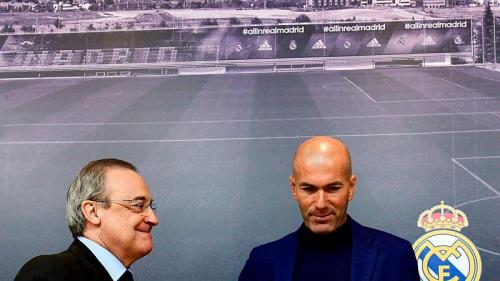 Florentino Perez dan Zidane