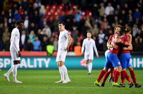 Laga Timnas Republik Ceko vs Inggris