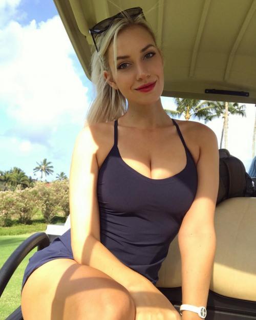 Paige Spiranac begitu mencintai golf