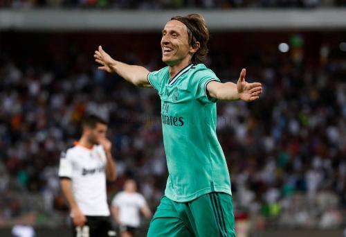 Luka Modric (Foto: Laman resmi Real Madrid)