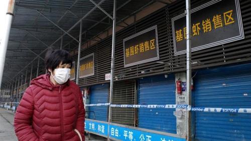 virus corona di China