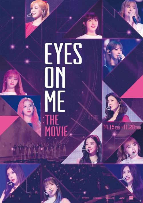 Eyes on Me dominasi penjualan tiket bioskop di Korea Selatan.