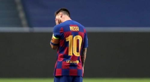 Lionel Messi (Foto: Laman resmi UEFA)