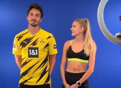 Alica Schmidt dan Matt Hummels