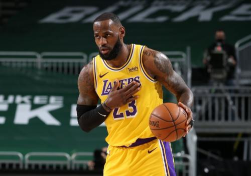 LeBron James bintang LA Lakers (Foto: Reuters)