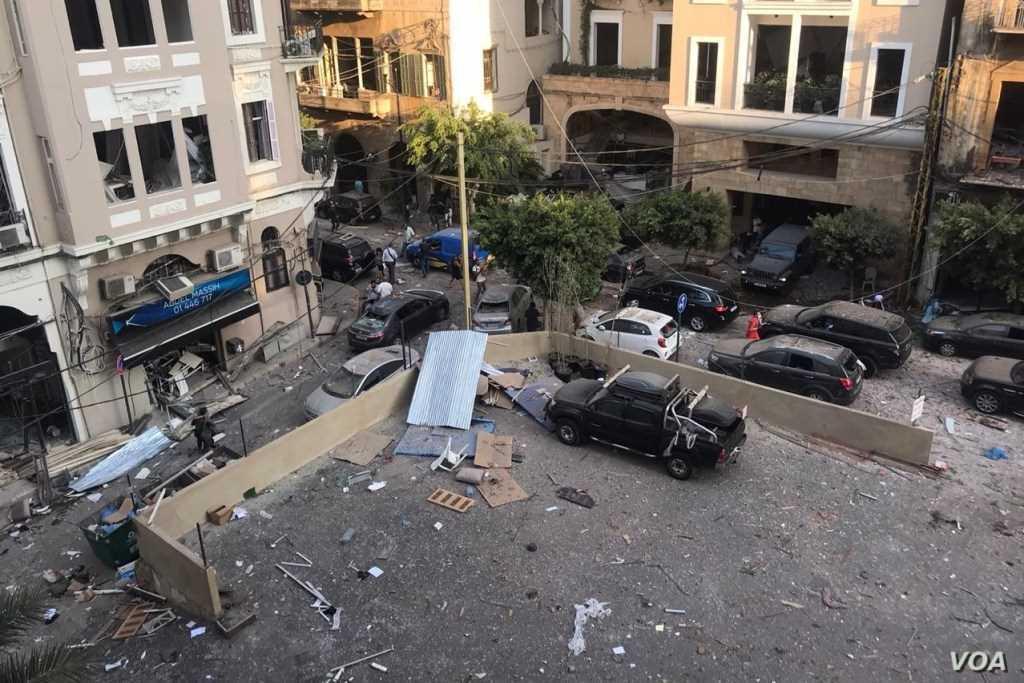 Der Libanon, ein bereits gequältes Land, jetzt Opfer einer Tragödie