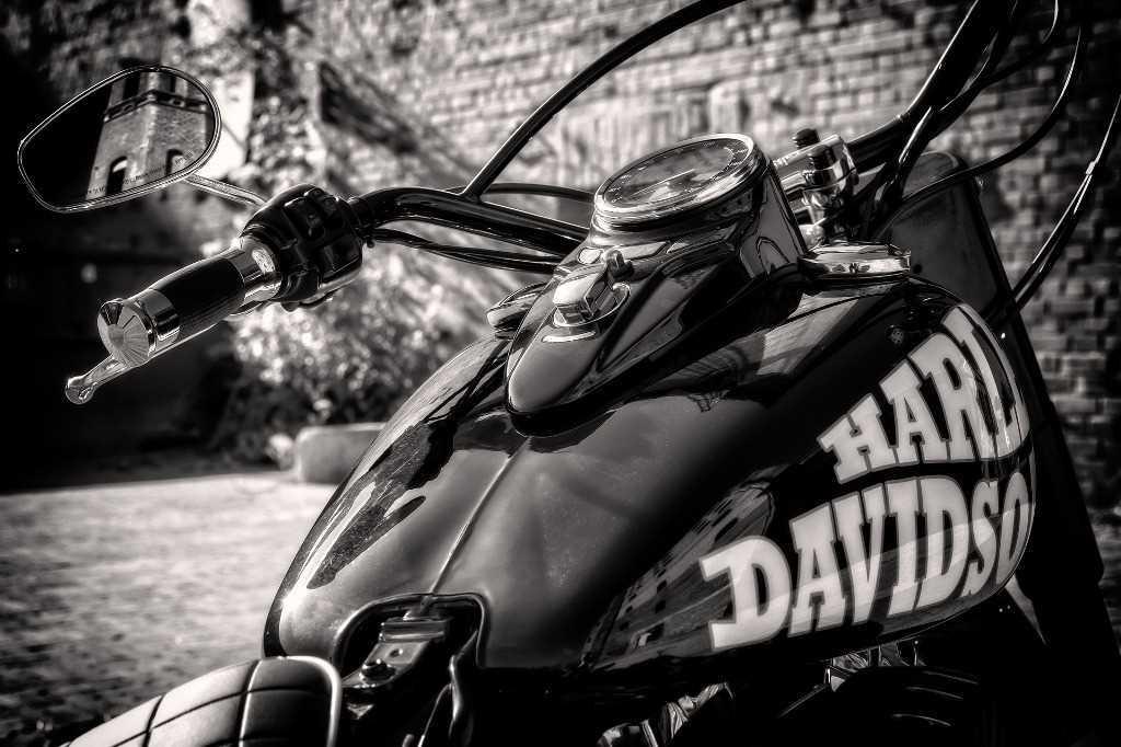 Harley Davidson rally in Montecatini Terme in Tuscany.