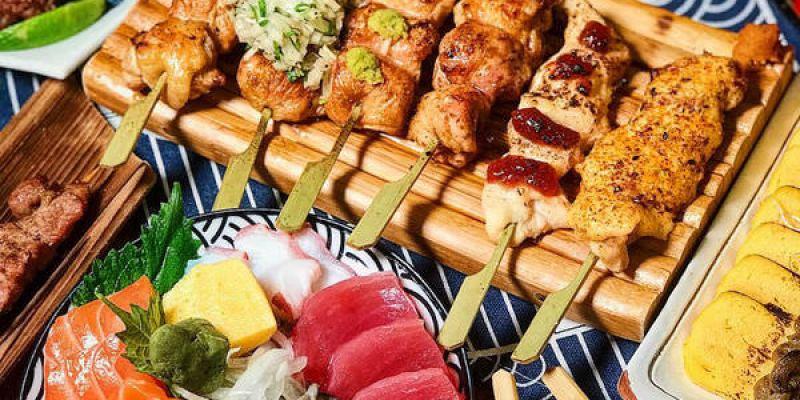 (台南美食/中西區)燒釜家~好吃平價日式居酒屋~串燒料理~