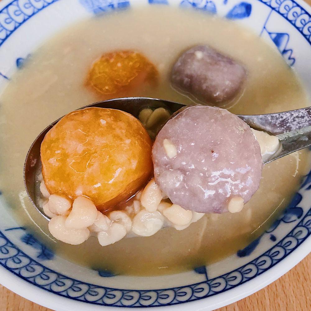 (台南美食/中西區)走吧花生湯~花生湯專賣店,還能吃到巨無霸芋圓和古早味的油蔥肉燥粿 !