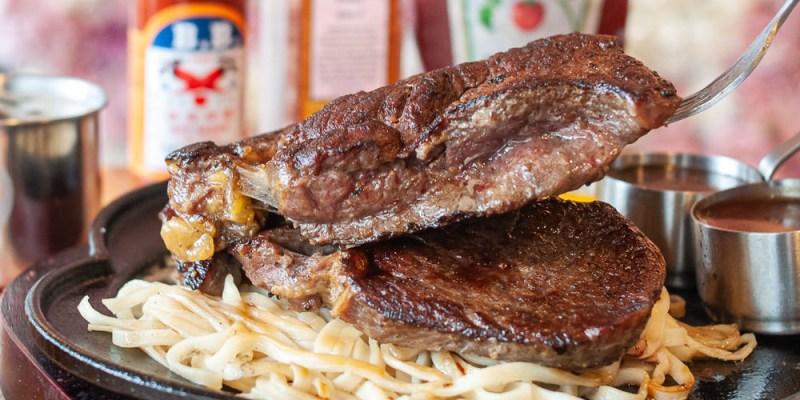 (台南美食/牛排推薦)台南牛排推薦,19House炙燒牛排~佳里人氣牛排館!大口吃肉又不傷荷包的好地方!濃湯、沙拉吧、抹醬吐司、珍珠奶茶、飲料機~無限暢食!
