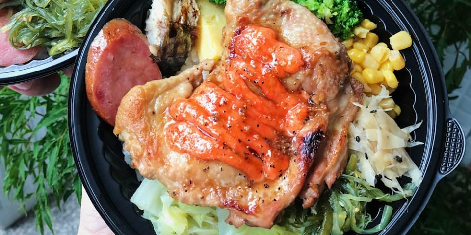(台南美食/中西區)穀倉碳烤驛站/穀倉弁當~全新推出百元便當,八樣配菜加一主菜,超豐盛外帶便當!色香味俱全,讓你食指大動!