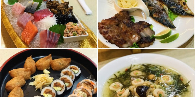 (台南美食/麻豆區)新松子日本料理,適合喜慶宴會、朋友聚餐、團體聚餐,聚餐餐廳推薦!