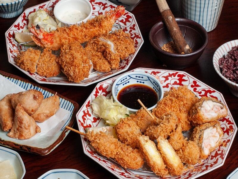 (台南美食/中西區)想吃道地日式豬排首選《銀座杏子日式豬排》新品推出繽紛海陸套餐,美味大滿足!