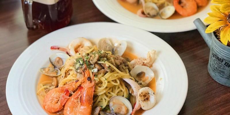 (台南美食/東區) 樂熊PASTA義大利麵餐廳,便宜到不合理的美味義大利麵!
