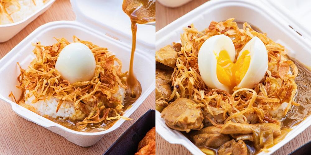 台南「丸飯食事處」推出日本超人氣的「京都鳥巢咖哩丸飯」驚爆嚐鮮價竟然只要69元 !