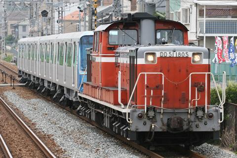【横市】横浜市営10000形4両甲種輸送