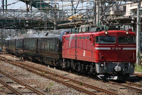 【JR東】8181牽引でE655系小山へ
