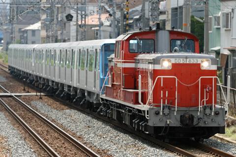 【横市】横浜市営10000形8両甲種輸送