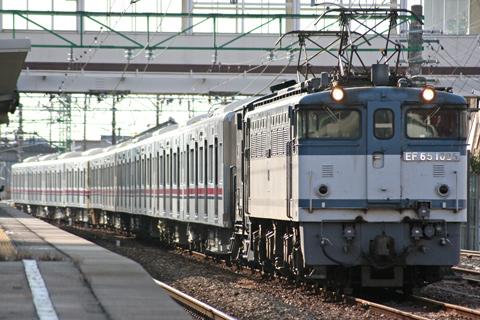 【京王】9000系9736F甲種輸送