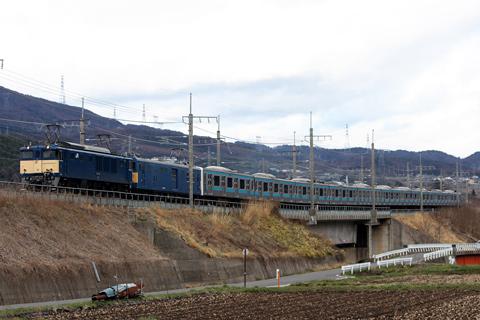 【JR東】209系ウラ19編成廃車配給