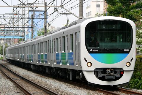 【西武】30000系38101F営業運転開始