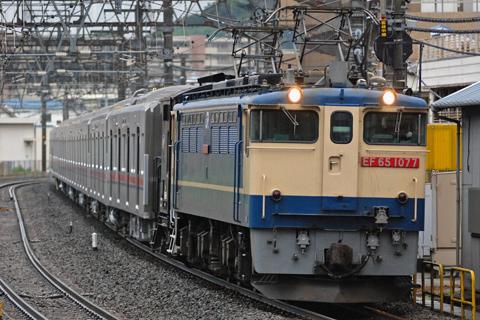 【京王】9000系9741F甲種輸送