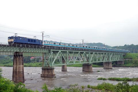 【JR東】E233系ウラ120編成配給輸送