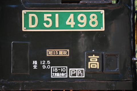 【JR東】D51-498緑プレに