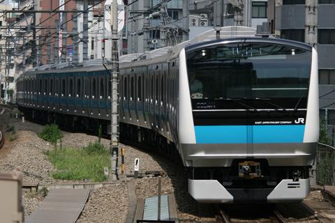 【JR東】E233系ウラ132編成ウラ区へ