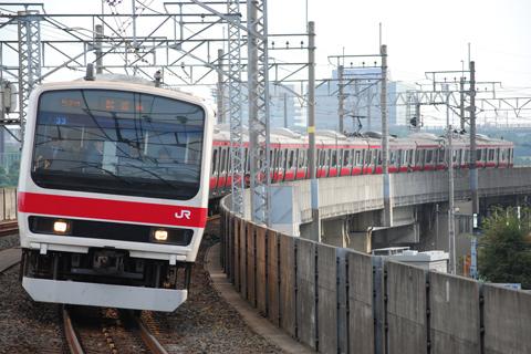 【JR東】209系ケヨ33編成試運転