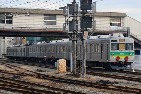 【秩鉄】7002F+2両甲種輸送