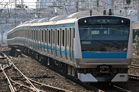 【JR東】E233系ウラ145編成東急出場