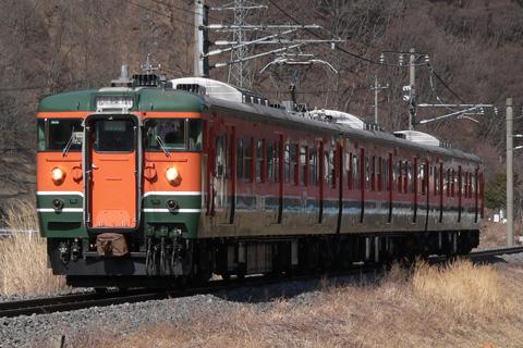 【JR東】115系訓練車訓練運転
