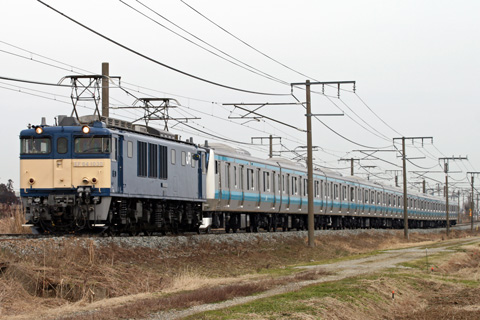 【JR東】E233系ウラ142編成配給輸送