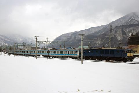 【JR東】E233系ウラ143編成配給輸送