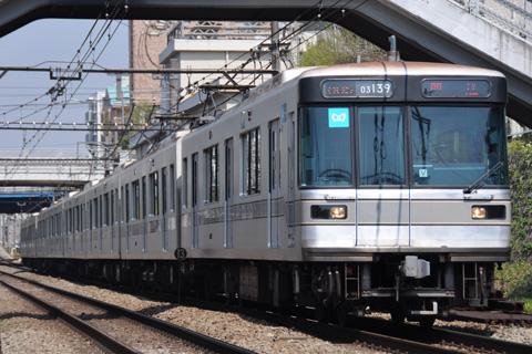 【メトロ】03-139F 検査入場回送