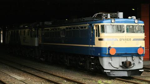 【JR貨】EF64-1002+EF65-535OM出場